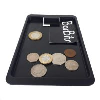 BarBits Black Plastic Tip Tray With Clip